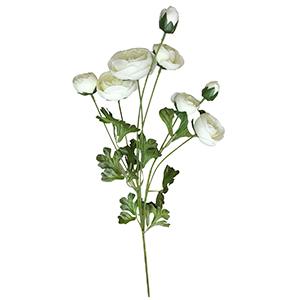 Vara con rosas blancas
