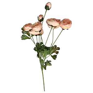 Vara con rosas durazno