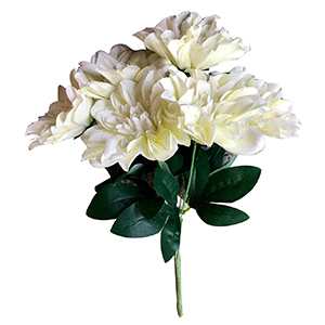 Ramo de flores rosas blancas