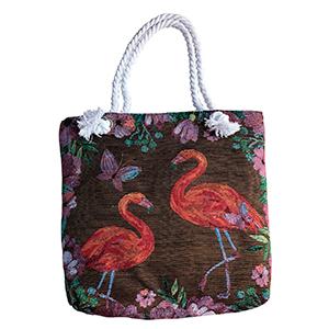 Bolsa de dama diseño flamingos