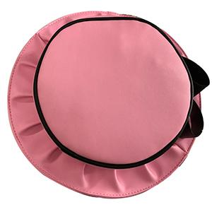 Bolsa diseño sombrero color rosa