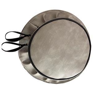 Bolsa diseño sombrero color gris
