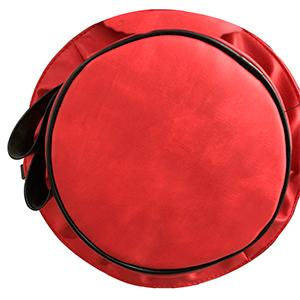 Bolsa diseño sombrero color roja