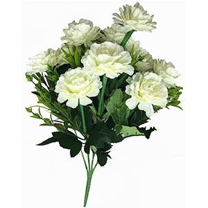 Ramo con flores blancas con follaje