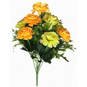 Ramo con flores naranjas y amarillas